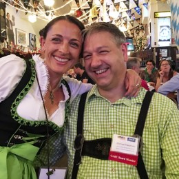 Alexandra &Michael at Oktoberfest 2015
