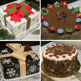 A stunning cake selection provided by Konditor Meister