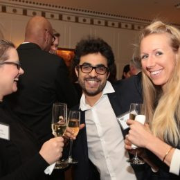 Guests from Goss Associates at the gala