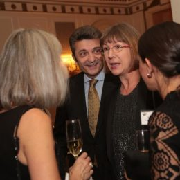 Consul General Dr. Ralf Horlemann and his wife Dr. Bianca Horlemann honored us with their presence at the gala